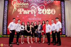 Party 2020 123 Gym Yoga Golden